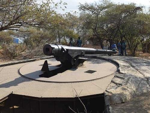 キャノン・ヒルにある大砲