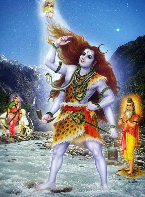 ガンガダーラとしてのシヴァ神