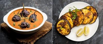 インドのなすびを使った料理