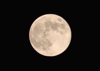 北海道の月