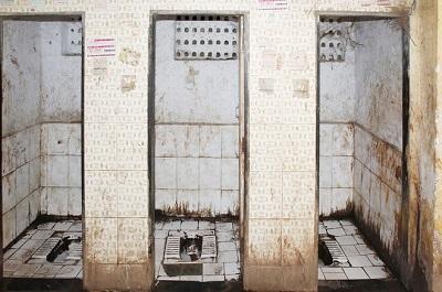 インドの公衆トイレ