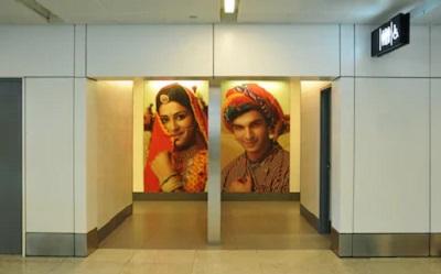 インドの空港のトイレ