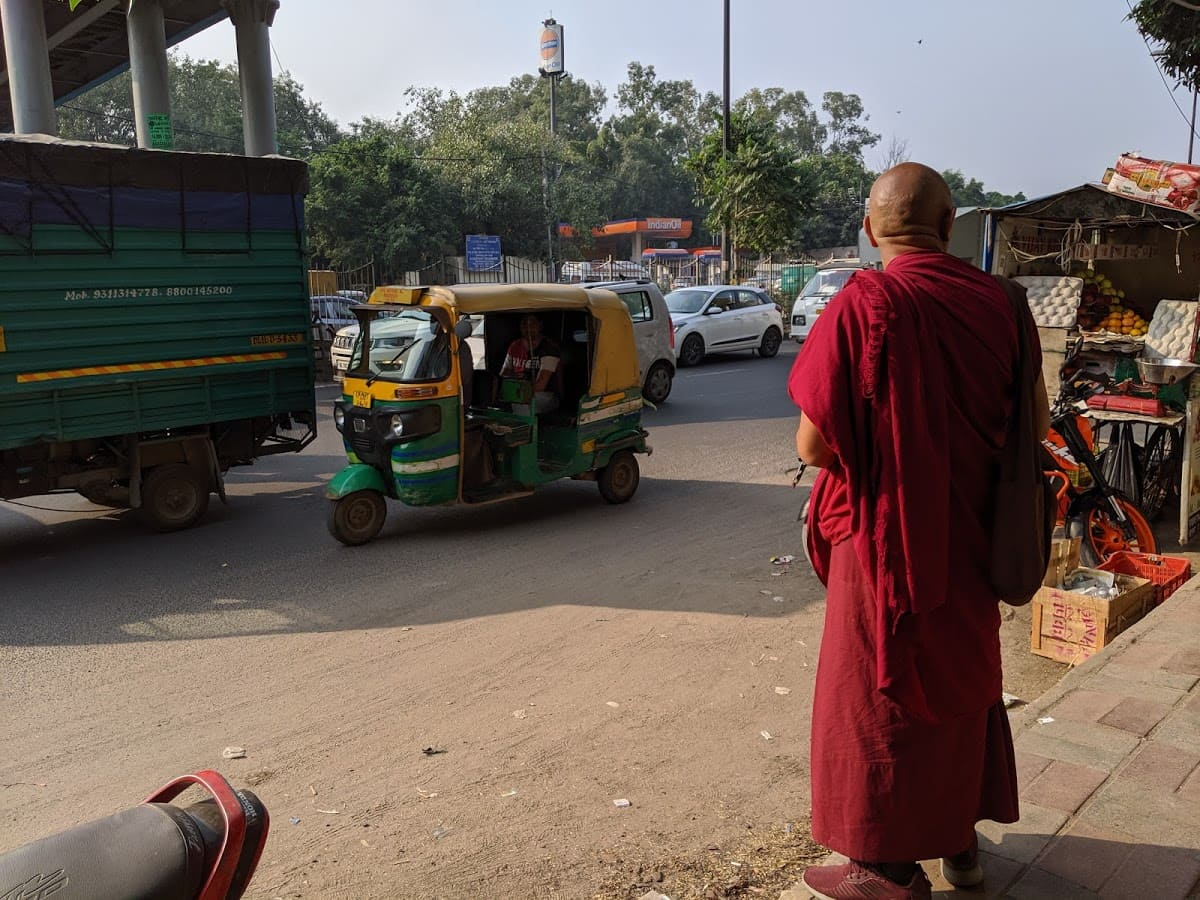 チベット人男性