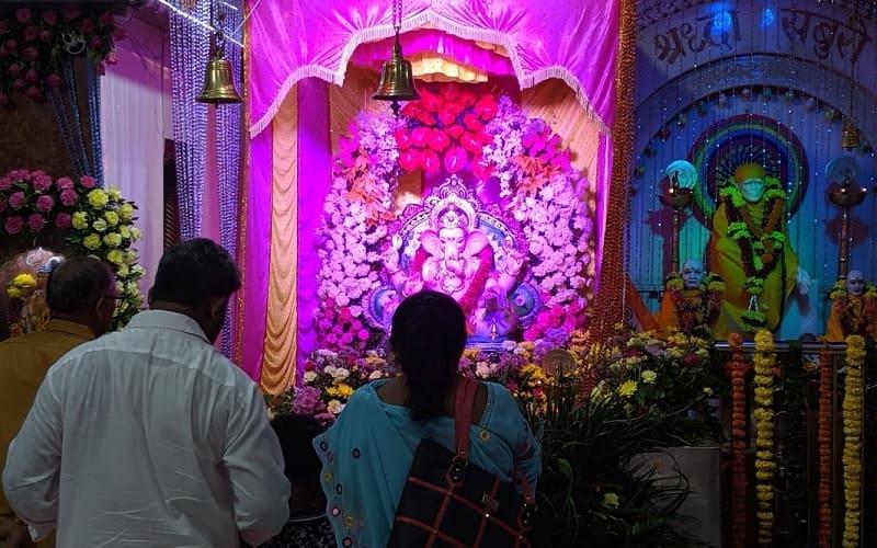 ムンバイのガネーシャ像