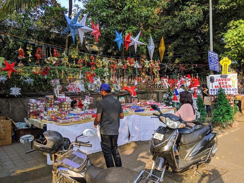 ムンバイのクリスマスマーケット②