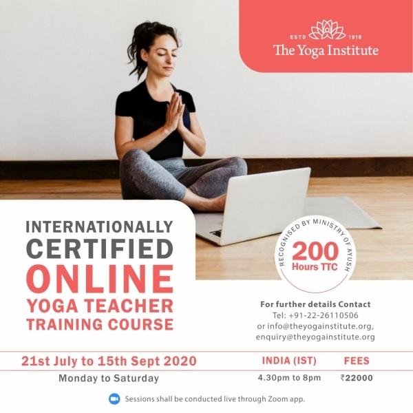The Yoga Institute TTC200