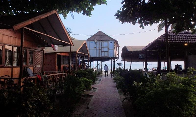 ゴアのビーチハッツ(Goan Beach Huts)