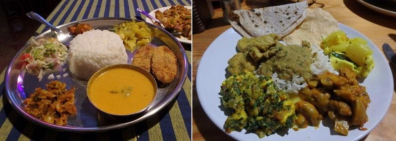 ゴアパロレムビーチ滞在時に食べたインド料理