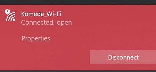 フリーWi-Fi(公衆無線LAN)のアクセスポイントに接続