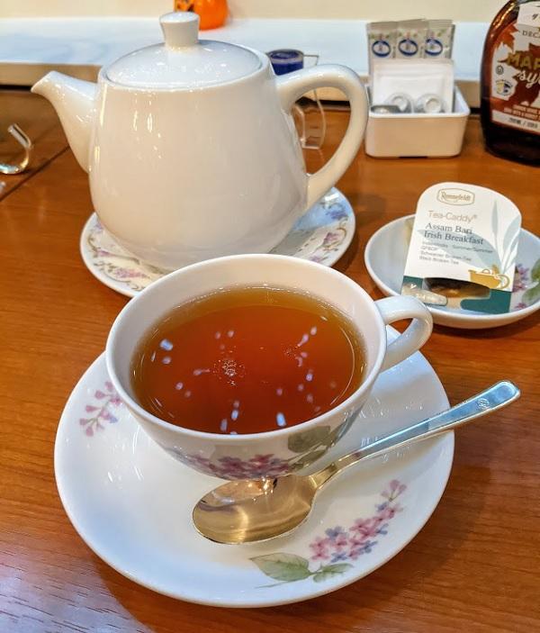 ニューオータニイン札幌のハロウィンアフタヌーンティー(紅茶)