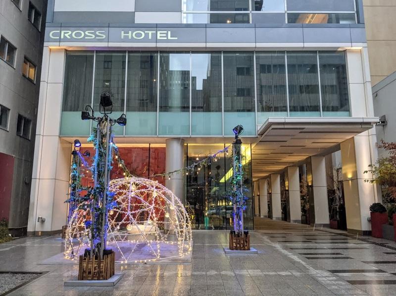 クロスホテル札幌エントランス