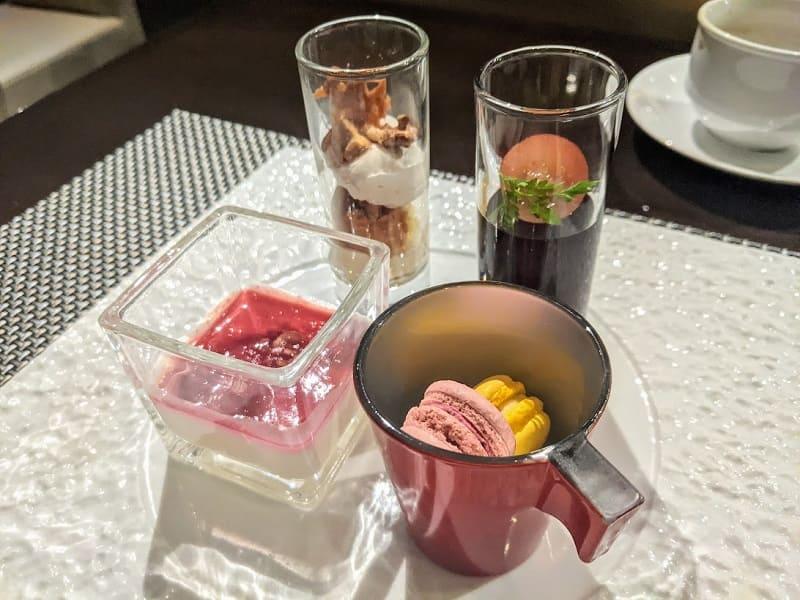 クロスホテル札幌のランチ(デセールガレリー2)