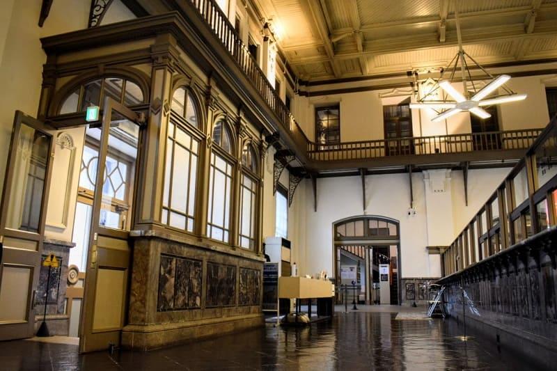 日本銀行旧小樽支店の内部