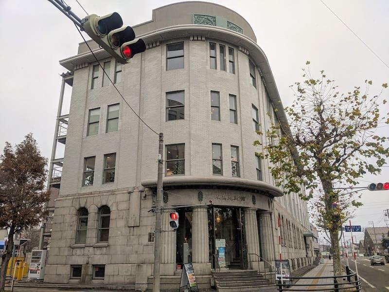 旧北海道拓殖銀行小樽支店(正面)