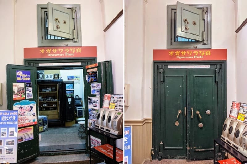 旧三菱銀行小樽支店の金庫室