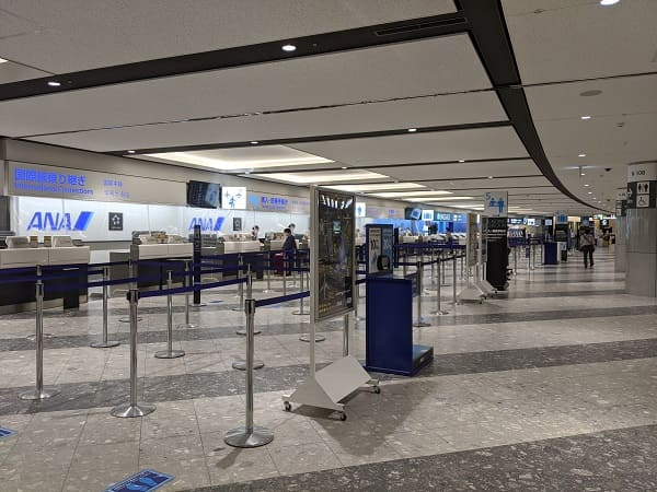人がいない新千歳空港①