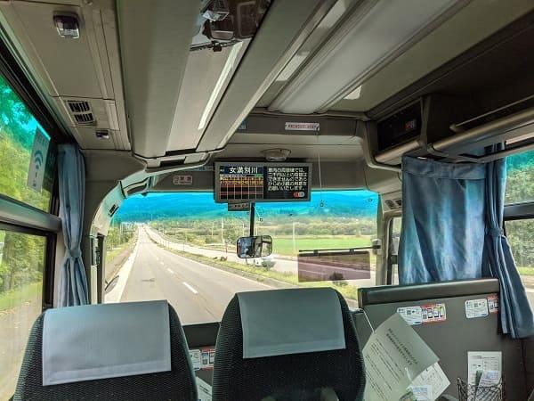 空港路線バスからの景色①