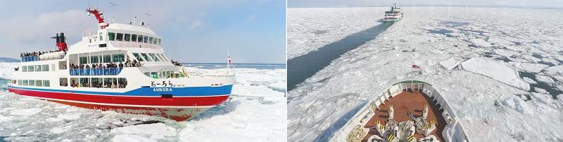 網走流氷観光砕氷船おーろら