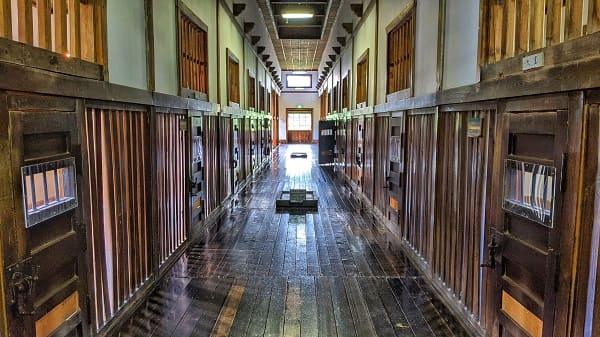 二見ヶ岡刑務支所の舎房