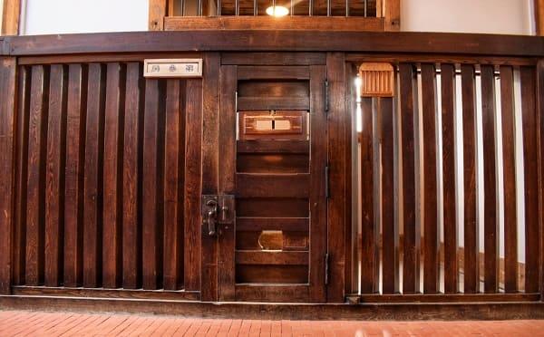 網走監獄 舎房の格子