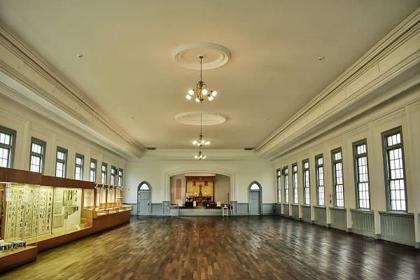 網走監獄 教誨堂の内部