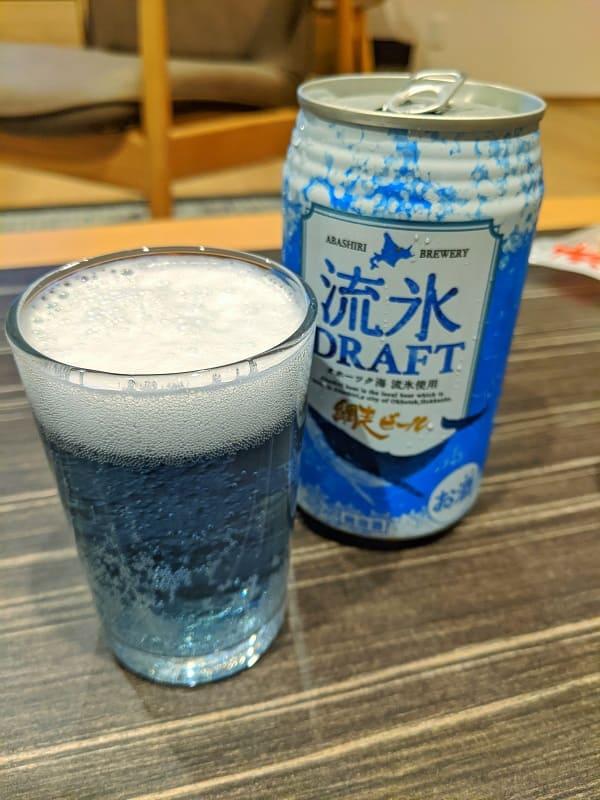ご当地ビール「流氷ドラフト」