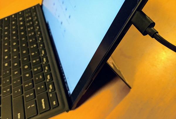 Surface Pro 7をUSB-Cで充電