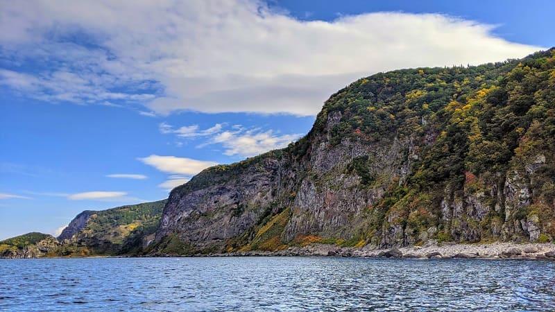 知床半島の景色