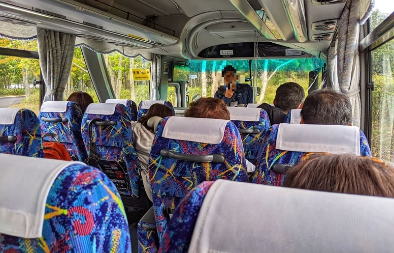 知床自然センターからの無料シャトルバス