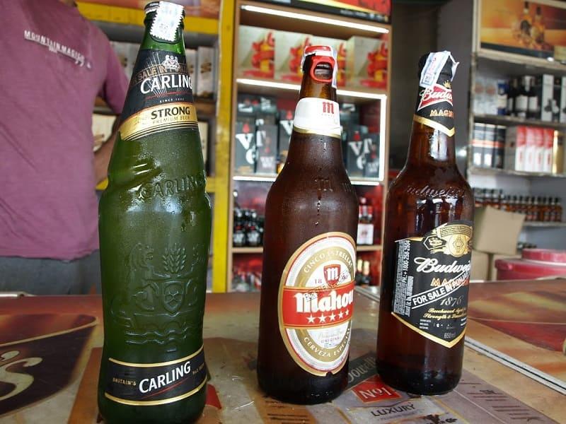 英カーリング、西マホウ、米バドワイザーのストロングビール