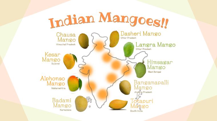 タイトル画像(【インドの果物】マンゴーの季節がやってきた!マンゴー大国インドでマンゴーを味わい尽くす ~マンゴーの歴史・インドマンゴーの種類・食べ方・栄養素など~)