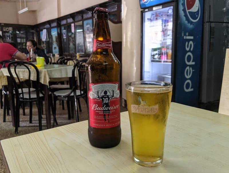 CAFE MILITARYのビール