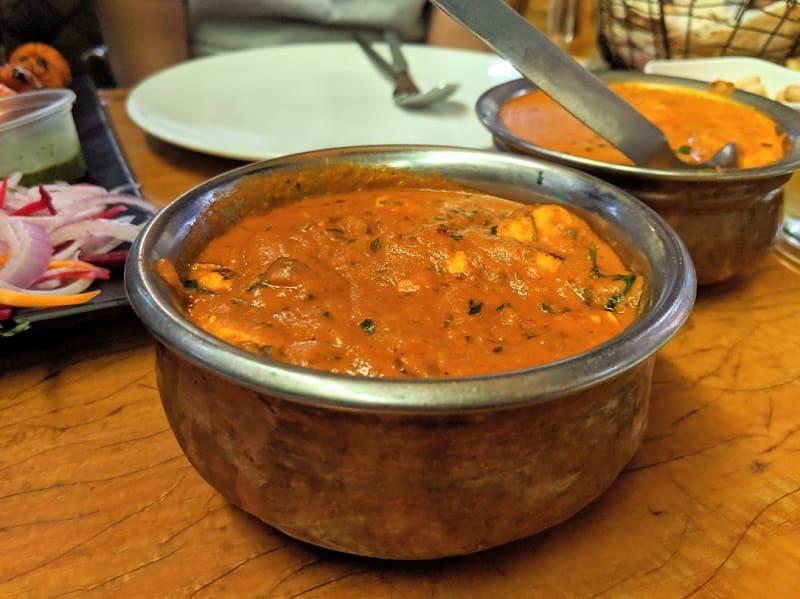 レオポルドカフェの北インド料理