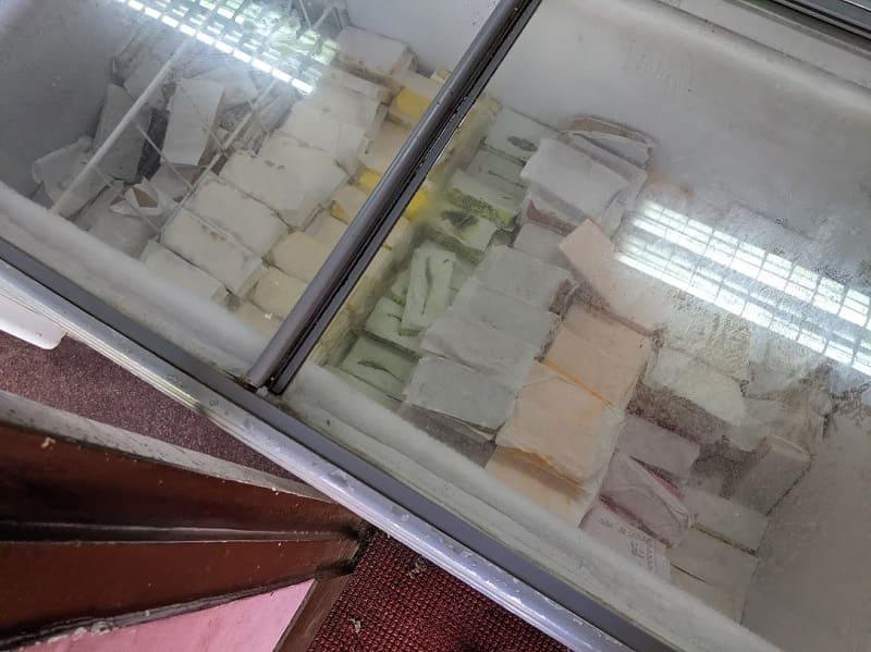 カラフルなアイスクリーム
