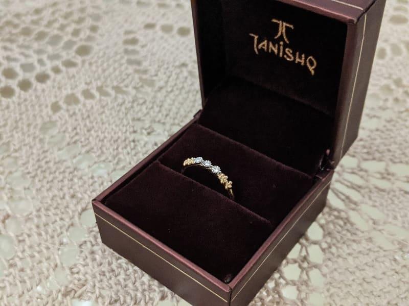 Tanishqのダイヤの指輪