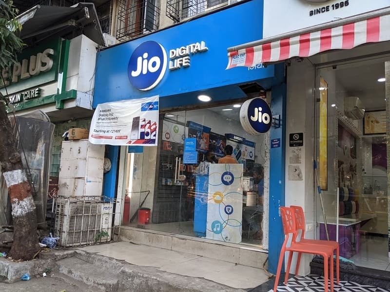 Jioの店舗