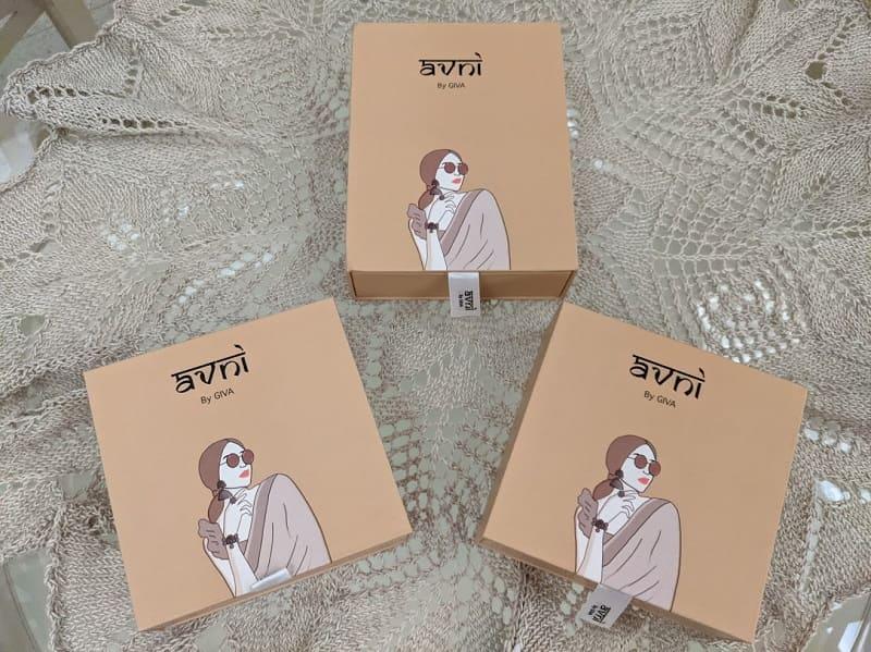 Avniのシルバーアクセサリー(梱包)