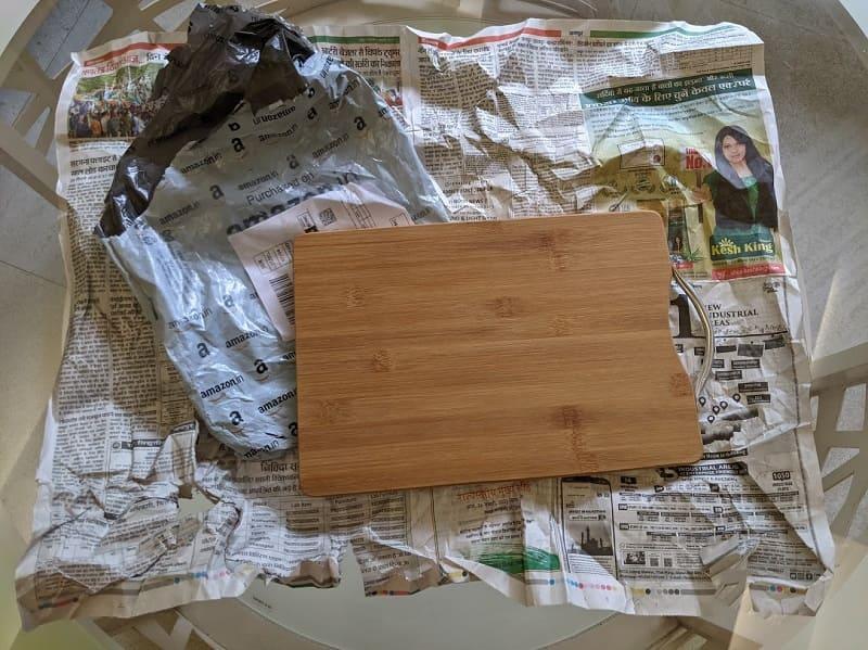 竹のまな板