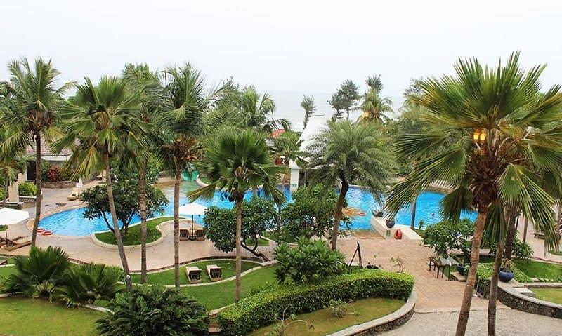 Vivanta by Taj Fisherman's Coveの部屋からの眺め