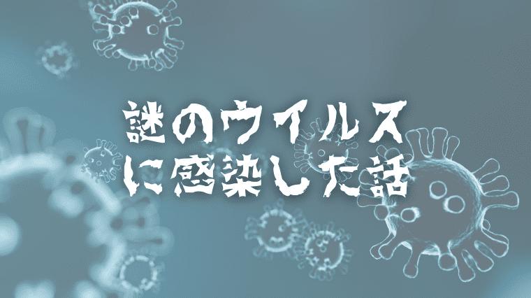 アイキャッチ画像(【インド生活】原因不明の謎ウイルスに感染した話(症状、検査、費用など))