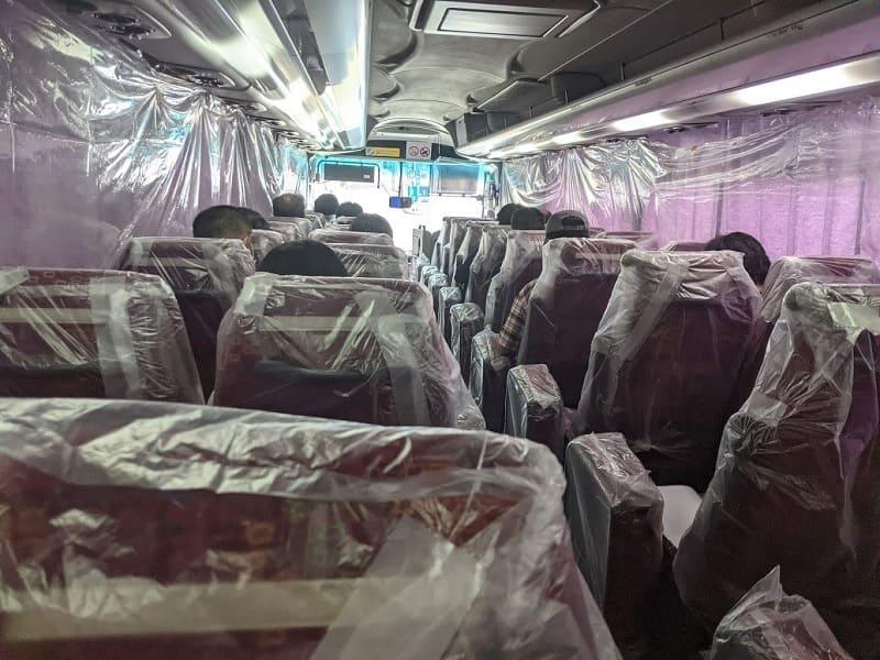 入所時のバス