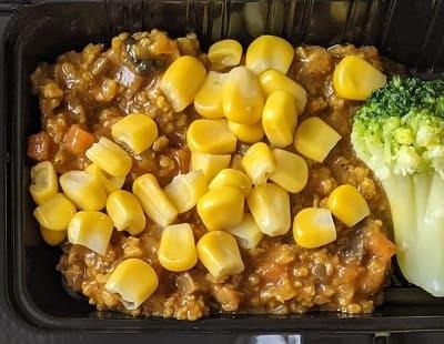 大豆キーマカレー