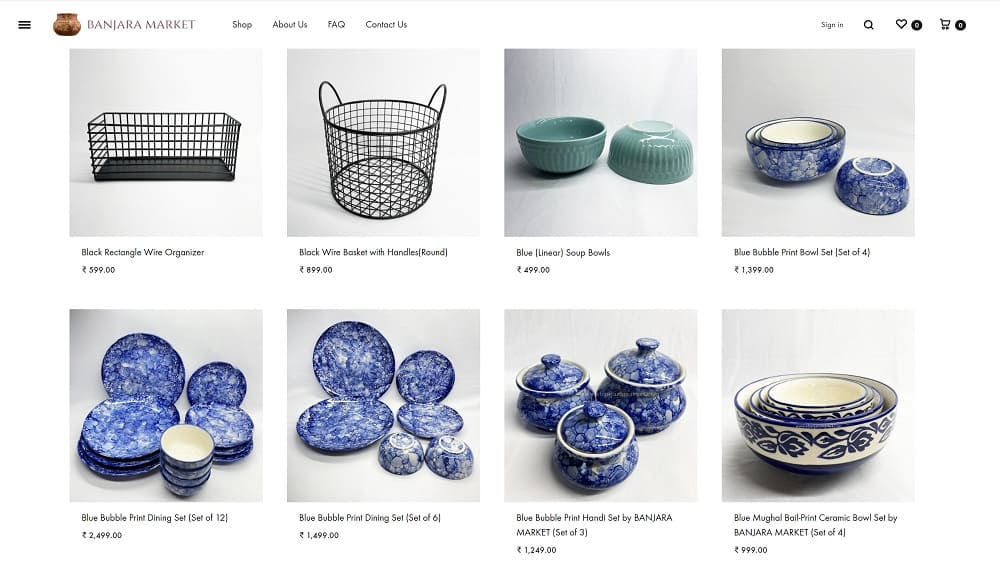 Banjara market online shop