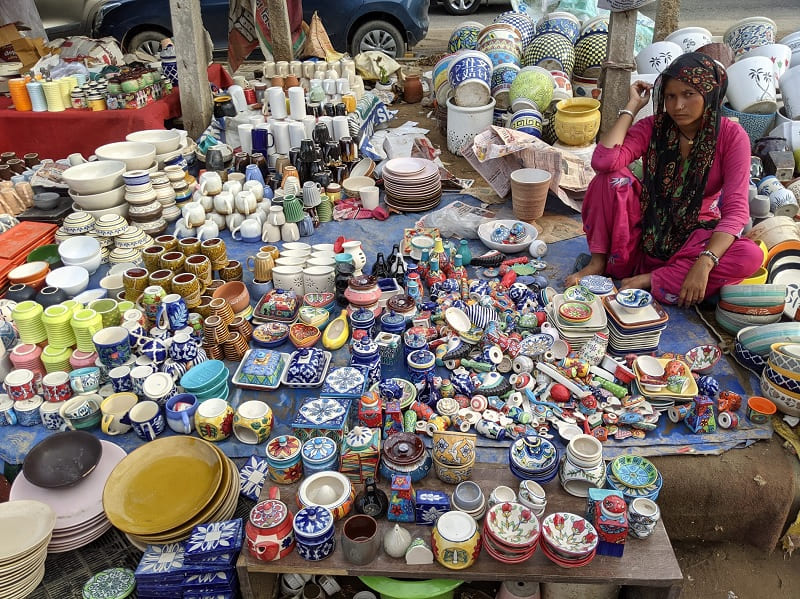 Banjara Market(セラミックのお皿とマグカップ)②