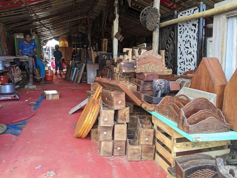 Banjara Market(木の小物入れ)