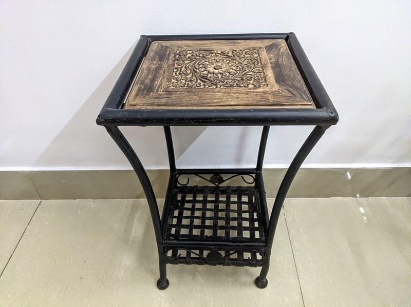 バンジャラマーケットで購入したサイドテーブル