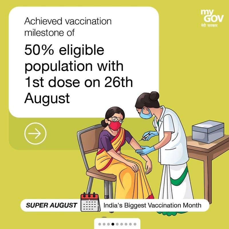 インドのコロナワクチン接種状況