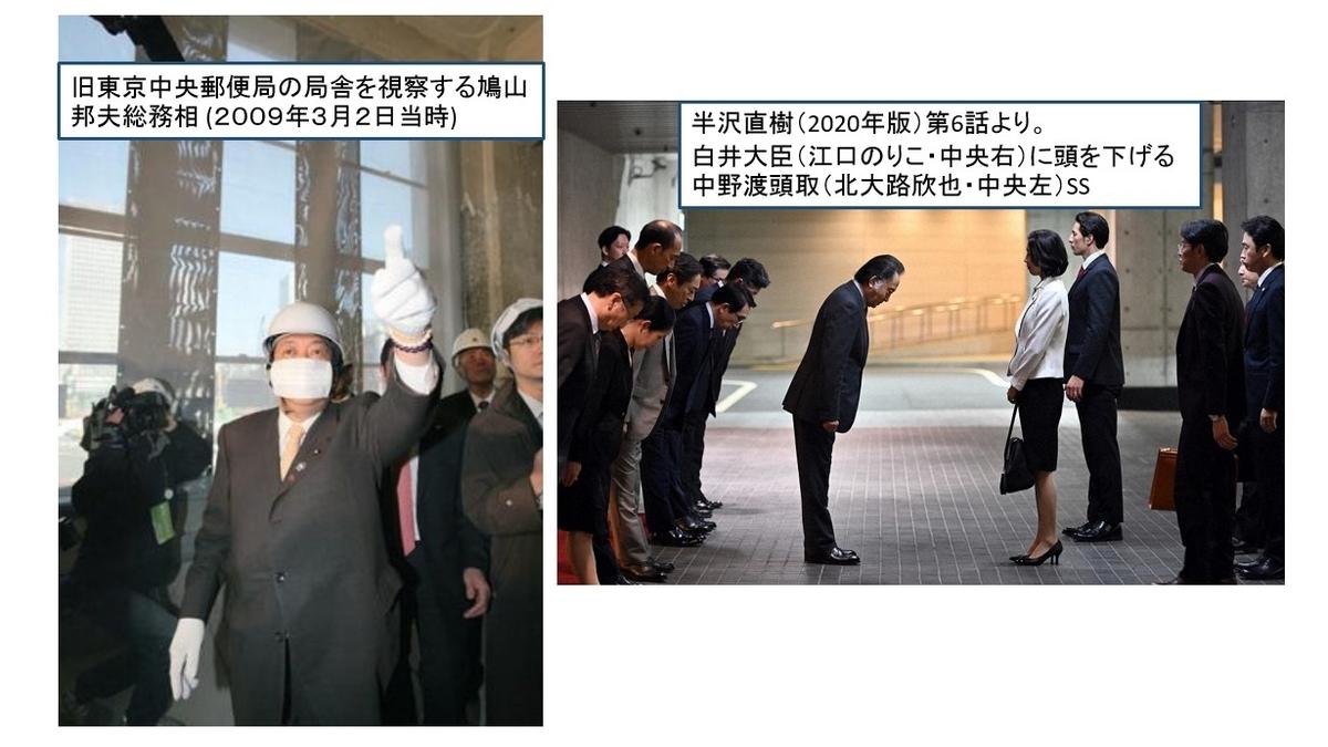 リアル白井大臣の行動は鳩山大臣と似ている