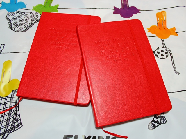 赤いノート [ Flying Tiger(フライングタイガー) ]