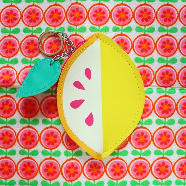 Flying tiger レモンの小銭入れ